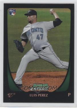 2011 Bowman Draft Picks & Prospects Chrome Refractor #69 - Luis Perez
