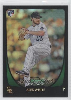 2011 Bowman Draft Picks & Prospects Chrome Refractor #90 - Alex White