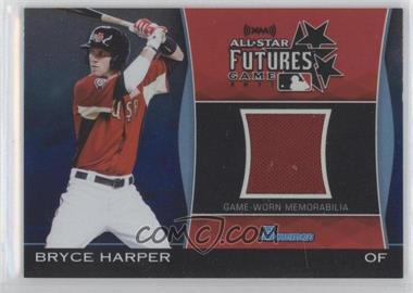 2011 Bowman Draft Picks & Prospects Futures Game Relics Blue #FGR-BH - Bryce Harper /199