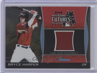 2011 Bowman Draft Picks & Prospects Futures Game Relics Gold #FGR-BH - Bryce Harper /50