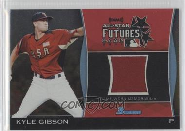 2011 Bowman Draft Picks & Prospects Futures Game Relics Gold #FGR-KG - Kyle Gibson /50