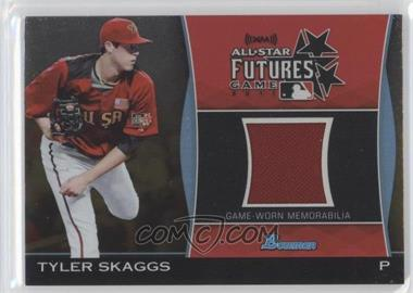 2011 Bowman Draft Picks & Prospects Futures Game Relics Gold #FGR-TS - Tyler Skaggs /50