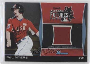 2011 Bowman Draft Picks & Prospects Futures Game Relics Gold #FGR-WM - Wil Myers /50