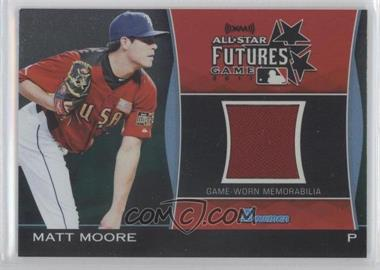 2011 Bowman Draft Picks & Prospects Futures Game Relics Green #FGR-MMO - Matt Moore /25