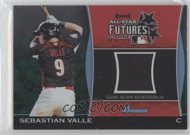 2011 Bowman Draft Picks & Prospects Futures Game Relics Green #FGR-SV - Sebastian Valle /25
