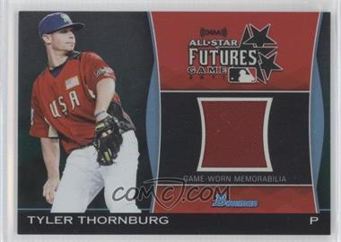 2011 Bowman Draft Picks & Prospects Futures Game Relics Green #FGR-TT - Tyler Thornburg /25