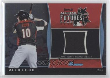 2011 Bowman Draft Picks & Prospects Futures Game Relics #FGR-AL - Alex Liddi