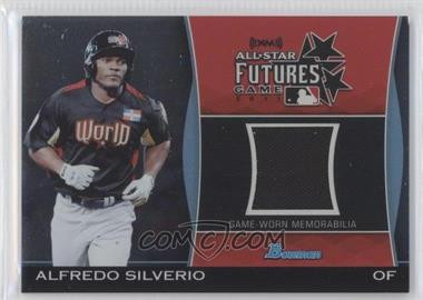 2011 Bowman Draft Picks & Prospects Futures Game Relics #FGR-AS - Alfredo Silverio