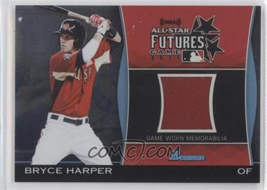 2011 Bowman Draft Picks & Prospects Futures Game Relics #FGR-BH - Bryce Harper