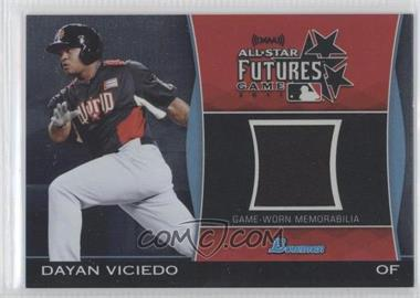 2011 Bowman Draft Picks & Prospects Futures Game Relics #FGR-DV - Dayan Viciedo
