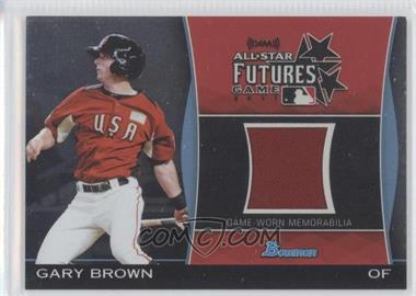 2011 Bowman Draft Picks & Prospects Futures Game Relics #FGR-GB - Gary Brown