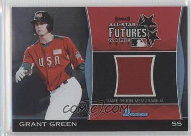 2011 Bowman Draft Picks & Prospects Futures Game Relics #FGR-GG - Grant Green