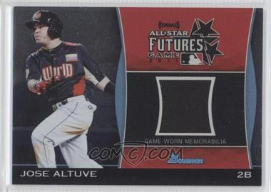 2011 Bowman Draft Picks & Prospects Futures Game Relics #FGR-JA - Jose Altuve