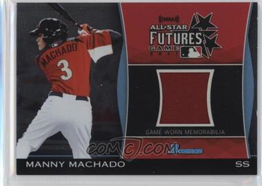 2011 Bowman Draft Picks & Prospects Futures Game Relics #FGR-MM - Manny Machado