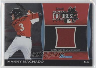 2011 Bowman Draft Picks & Prospects Futures Game Relics #FGR-MM - Manny Machado
