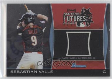 2011 Bowman Draft Picks & Prospects Futures Game Relics #FGR-SV - Sebastian Valle