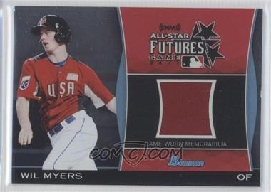 2011 Bowman Draft Picks & Prospects Futures Game Relics #FGR-WM - Wil Myers