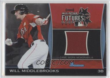 2011 Bowman Draft Picks & Prospects Futures Game Relics #FGR-WMI - Will Middlebrooks