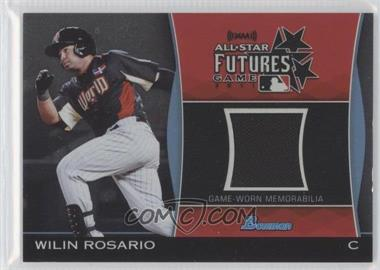 2011 Bowman Draft Picks & Prospects Futures Game Relics #FGR-WR - Wilin Rosario