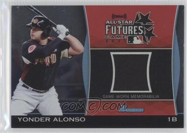 2011 Bowman Draft Picks & Prospects Futures Game Relics #FGR-YA - Yonder Alonso