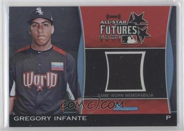 2011 Bowman Draft Picks & Prospects Futures Game Relics #FGR-gi - Gregory Infante