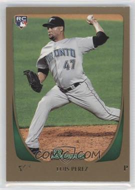 2011 Bowman Draft Picks & Prospects Gold #69 - Luis Perez