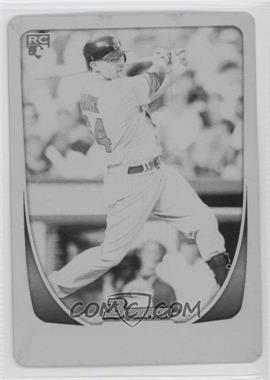 2011 Bowman Draft Picks & Prospects Printing Plate Black #17 - Andrew Brown /1