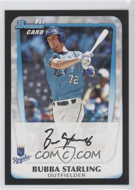 2011 Bowman Draft Picks & Prospects Prospects #BDPP82 - Bubba Starling