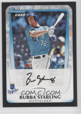 2011 Bowman Draft Picks & Prospects Prospects #BDPP82 - Bubba Starling