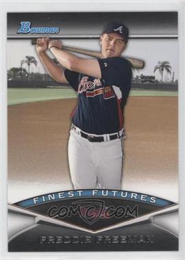 2011 Bowman Finest Futures #FF10 - Freddie Freeman