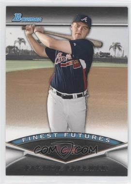 2011 Bowman Finest Futures #FF10 - Freddie Freeman