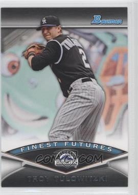 2011 Bowman Finest Futures #FF11 - Troy Tulowitzki