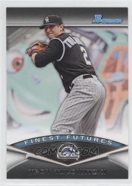 2011 Bowman Finest Futures #FF11 - Troy Tulowitzki
