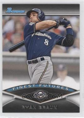 2011 Bowman Finest Futures #FF18 - Ryan Braun