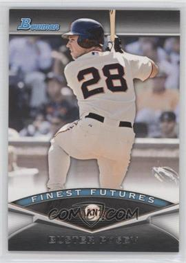 2011 Bowman Finest Futures #FF2 - Buster Posey