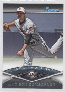 2011 Bowman Finest Futures #FF25 - Madison Bumgarner