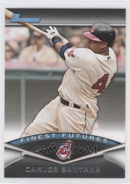 2011 Bowman Finest Futures #FF7 - Carlos Santana