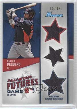 2011 Bowman Future's Game Triple Relics #FGTR-CP - Carlos Peguero /99