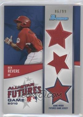 2011 Bowman Future's Game Triple Relics #FGTR-DB - Domonic Brown /99
