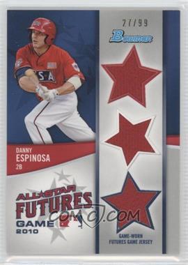 2011 Bowman Future's Game Triple Relics #FGTR-DE - Danny Espinosa /99