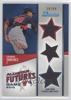 2011 Bowman Future's Game Triple Relics #FGTR-ES - Eduardo Sanchez /99