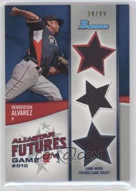 2011 Bowman Future's Game Triple Relics #FGTR-HA - Henderson Alvarez /99
