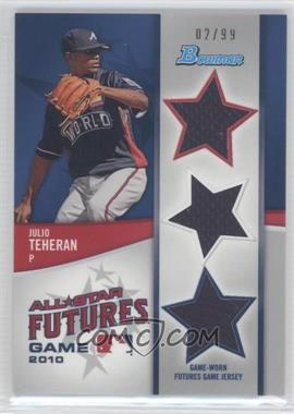 2011 Bowman Future's Game Triple Relics #FGTR-JT - Julio Teheran /99