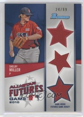 2011 Bowman Future's Game Triple Relics #FGTR-SM - Shelby Miller /99