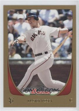 2011 Bowman Gold #1 - Buster Posey