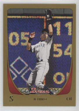 2011 Bowman Gold #153 - Ichiro Suzuki