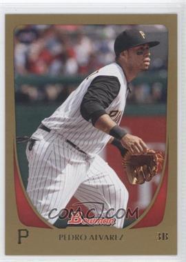 2011 Bowman Gold #156 - Pedro Alvarez