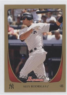 2011 Bowman Gold #170 - Alex Rodriguez