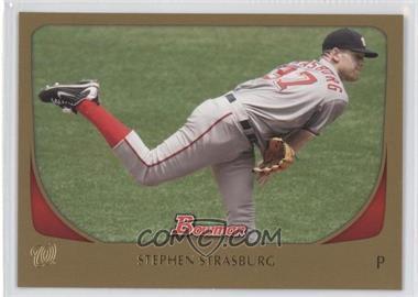 2011 Bowman Gold #179 - Stephen Strasburg