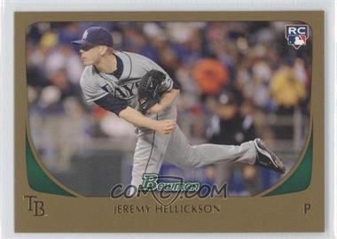 2011 Bowman Gold #199 - Jeremy Hellickson